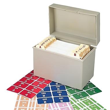 Smead® AlphaZ ACCS Color-Coded Alphabetic Label, A-Z, Assorted Colors, 2,200 Labels/Bx (67170)