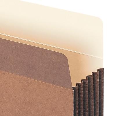 Smead® TUFF® Pocket File Pocket, Straight-Cut Tab, 5-1/4