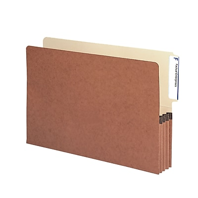 Smead End Tab File Pocket, Reinforced 4