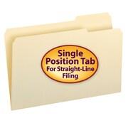 Smead® Manila Folder, 1/3-Cut Tab Right Position, Legal Size, 100/Box (15333)