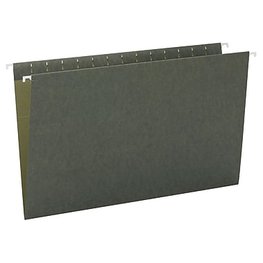 Smead® Hanging File Folder, Legal Size, Standard Green, 25/Box (64110)