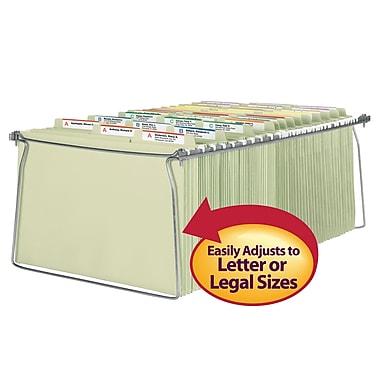 Smead® Steel Hanging File Folder Frames, Legal Size, Steel, 2/Pack (64873)