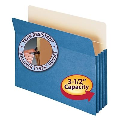 Smead Straight Cut File Pockets, 3-1/2