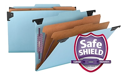 Smead Hanging 2/5 Inch Legal Classification Folders Each (65165)