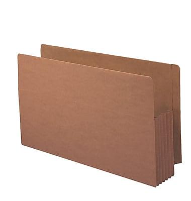 Smead Reinforced End-Tab File Pockets, 5-1/4