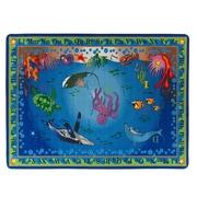 "Flagship Carpets Nylon, Into The Deep, 6'x8'4"" Multi-Colored Rug (FE317-32A)"