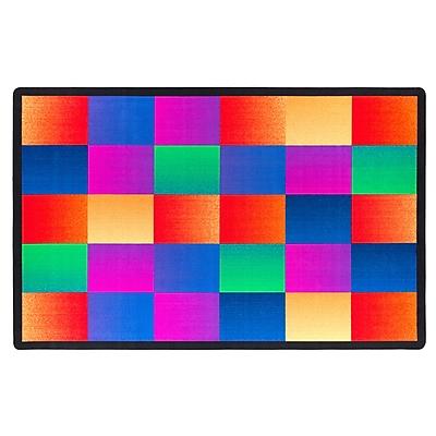 Flagship Carpets Nylon, Glow Blocks, 7'6