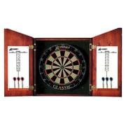 Accudart Union Jack Dartboard Cabinet Set