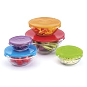 Innova Imports 10 Piece Glass Serving Bowl Set