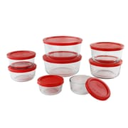 Pyrex 16 Piece Simply Store Nesting Glass Food Storage Set