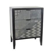 Sagebrook Home 3 Drawer Cabinet