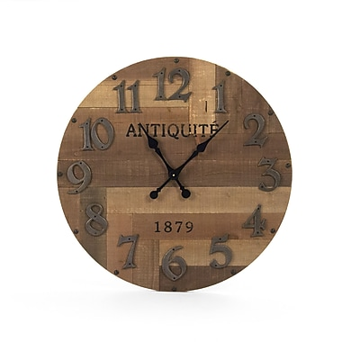 Zentique Inc. Darcy 30'' Wall Clock