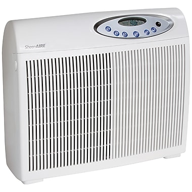 SheerAIRE® Large Room HEPA Air Purifier with Remote, White (AC-2045DC)