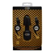 Goon – Chargeur USB double combiné rétractable 99337 pour iPhone 5, 5 x 2 x 8 (po), 50 gr