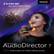Cyberlink – AudioDirector 7 Ultra [téléchargement]