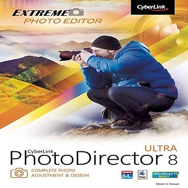CyberLink – PhotoDirector 8 Ultra, Mac [téléchargement]