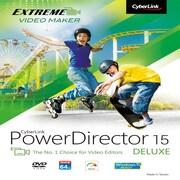 CyberLink – Montage vidéo PowerDirector 15 de luxe [téléchargement]