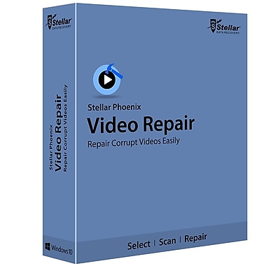 Stellar Phoenix Video Repair Windows [Téléchargement]