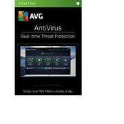 AVG – Logiciel Antivirus 2017, 3 utilisateurs, 1 an, (téléchargement)