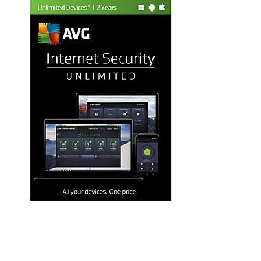 AVG - Internet Security 2017, illimité, 2 ans [téléchargement]