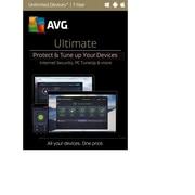 AVG - Ultimate 2017, illimité, 1 an [téléchargement]
