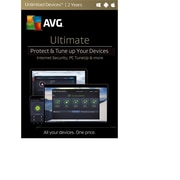 AVG Ultimate 2017, Unlimited 2 Years [Download]
