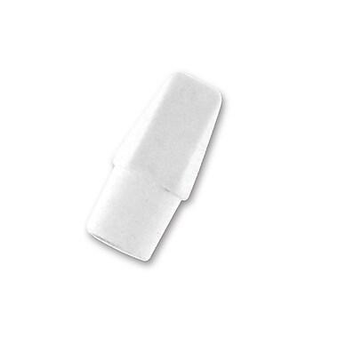 Pentel Hi-Polymer Eraser Caps, White, 10/Pack