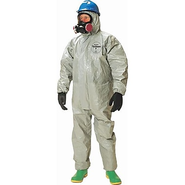 Dupont Personal Protection Coverall Tychem F Resp Hood Fit Elast Wrist Sm (TF169T-S)