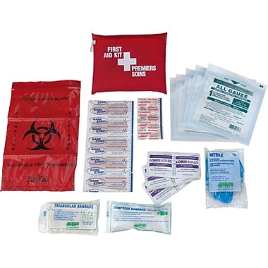 Safecross First Aid Kit New Brunswick Personal, Belt Pack, 6/Pack (50745B)