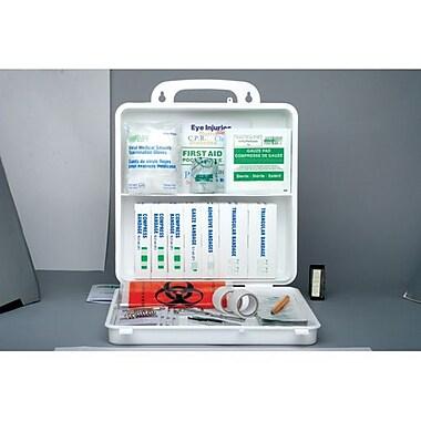 Safecross – Trousse de premiers soins réglementaire Nouvelle-Écosse No 3, 24 unités, poly, 2/paquet (50630)