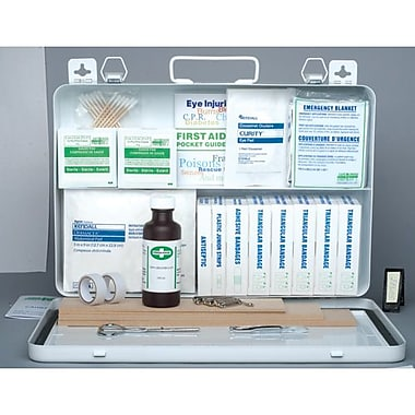 Safecross First Aid Kit P.E.I. Reg#3, 24U Metal with Gasket (50933)