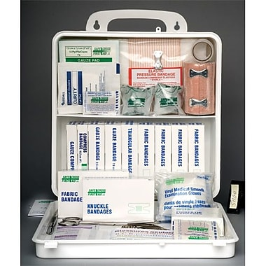 Safecross First Aid Kit North West Territories & Nunavut #1, 24U Poly, 2/Pack (51100)