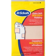 Safecross Scholl X-Soft Moleskin 7.9X15.2Cm, 24/Pack (36693)