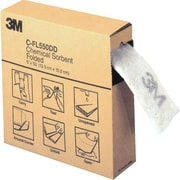 3M – Sorbant de produits chimiques, plié, boîte de 5 po x 50 pi, 3/paquet (C-FL550DD)