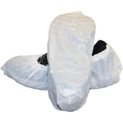 The Safety Zone – Couvre-chaussures en polyéthylène coulé en relief blanc, grand, 600/pqt (DSC-CPE-LG-WH)