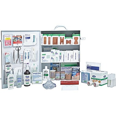 Safecross First Aid Kit Manitoba Workplace Deluxe #6 Metal (1872)