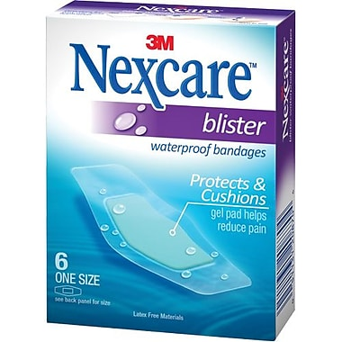 3M Blister Bandage - Waterproof, One Size, 72/Pack (7000123017)
