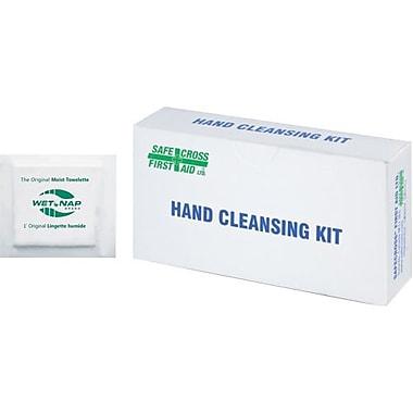 Safecross – Lingettes humides nettoyantes pour les mains, 576/pqt (2454)