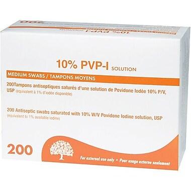 Safecross – Tampons de préparation antiseptiques avec povidone iodée, 1200/paquet (6894)