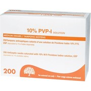 Safecross Povidone Iodine, Antiseptic Prep Pads, 1200/Pack (6894)