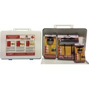 RuptureSeal – Paquet de 3 joints RuptureSeal, boîte à fixation murale, 3 tailles, 3/paquet (21RS-KIT1)