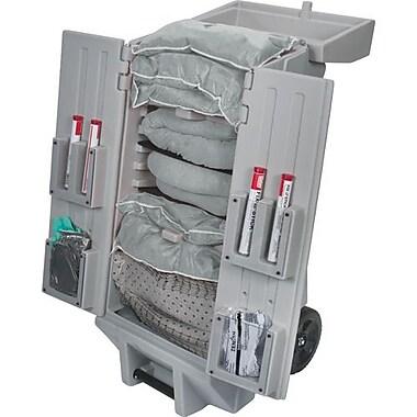 Zenith Safety Products – Trousse pour déversement, Univ, chariot mobile, cap 30 gal
