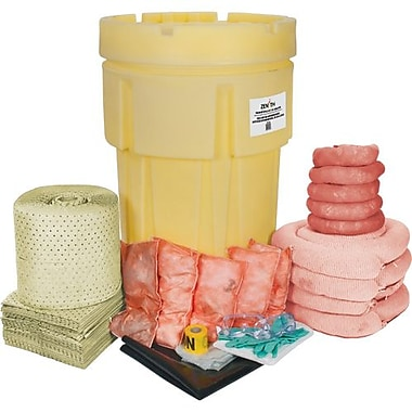Zenith Safety Products Spill Kit, Zenith, Hazmat, 95-Gal Capacity