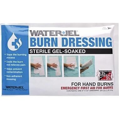 Safecross – Pansements Water-Jel pour brûlures sur les mains, 20,3 x 55,9 cm, 3/paquet (6632)