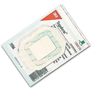 3M – Bandages 3 1/2 x 4 po, Tegaderm avec coussinet absorbant, 50/paq. (3586)