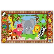 Flagship Carpets Cutie Jungle Kids Rug