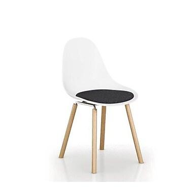 TOOU TA Dining Chair Cushion; Dark Gray