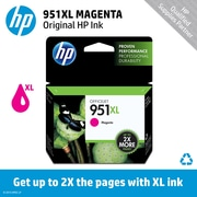 HP 951XL Ink Cartridge, Magenta (CN047AN)