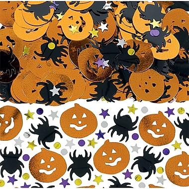 Amscan Halloween Confetti Mix, 2.5oz, 3/Pack (379466)