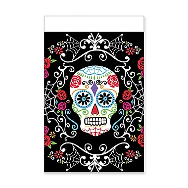 Amscan Day of the Dead Plastic Tablecover, 54
